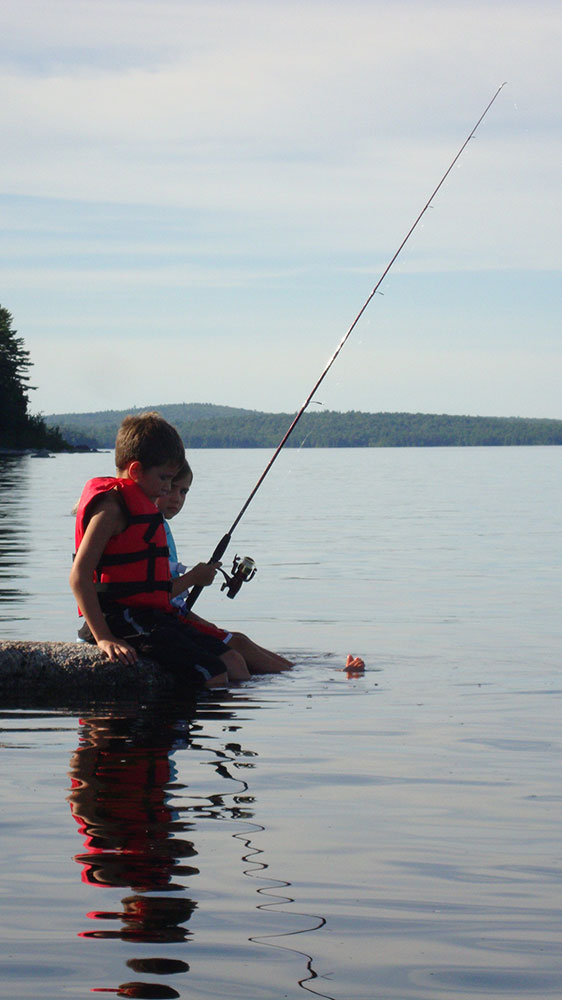 Kids Spring Fishing Hike