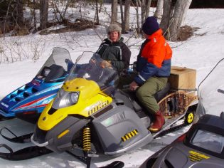 Snowmobiles Farm Cove
